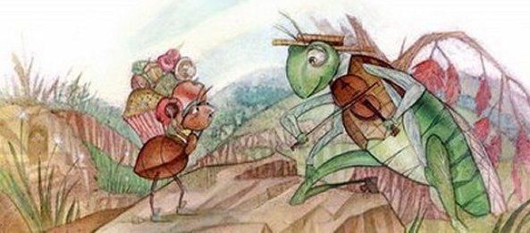Dongeng Semut Dan Belalang Yang Malas Kumpulan Cerita