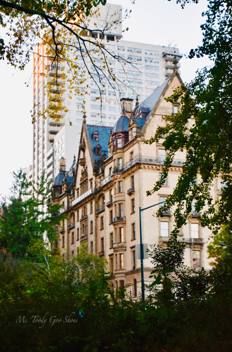 The Dakota, former home of John Lennon, across from Central Park, NYC | Ms. Toody Goo Shoes