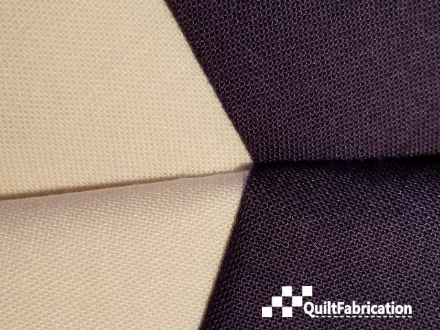 blue white seam match