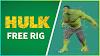 FREE HULK RIG 3D (2021)