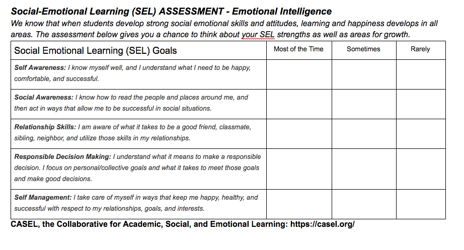 When Social And Emotional Learning Is >> Teach Children Well How Do You Evaluate Your Teaching