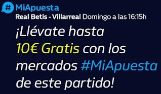 William hill Promo Betis vs Villarreal 13-12-2020