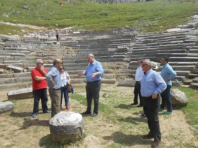 Συμπληρωματικές παρεμβάσεις της Περιφέρειας για τον Αρχαιολογικό χώρο Γιτάνων