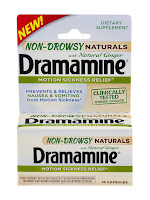 PRODUCT REVIEW: Dramamine Non-Drowsy Naturals