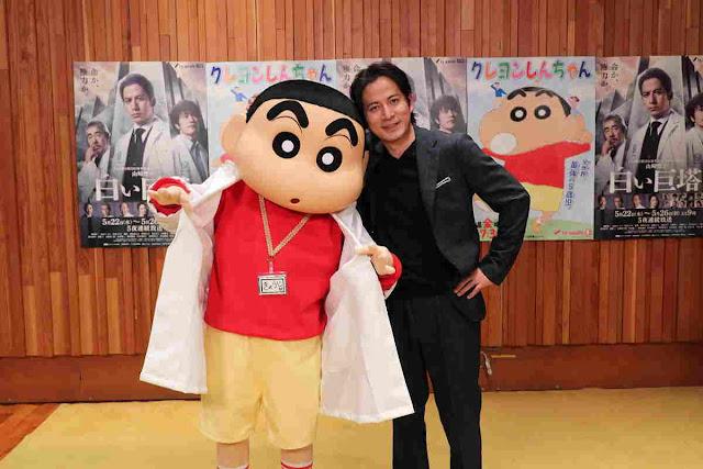 Crayon Shin-chan & Shiroi Kyotō Live-Action Series Akan Kolaborasi Dalam Short Anime