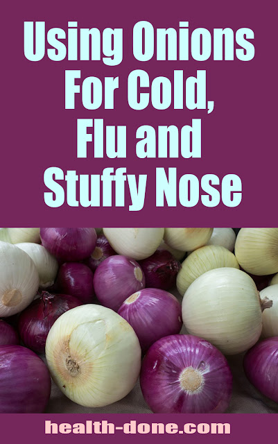 Using Onions For Cold, Flu and Stuffy Nose