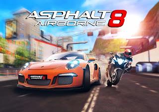 تحميل لعبة أسفلت 8 Asphalt 8 Airborne  مهكرة كاملة شراء اي شئ مجانا اخر اصدار
