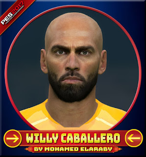 PES 2017 Faces Willy Caballero by M.Elaraby