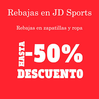 ¡Ofertas! 50% de dto en JD Sports