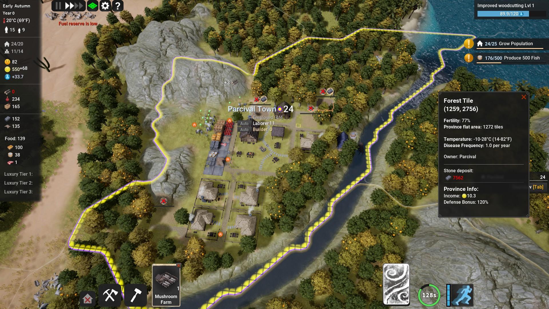 Kingdoms Reborn Region Details