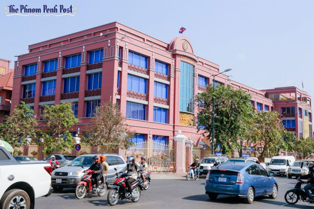 The National Bank of Cambodia in Phnom Penh, as seen earlier this year. Heng Chivoan