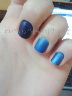 Mavi ve Lacivert Ojelerim-2
