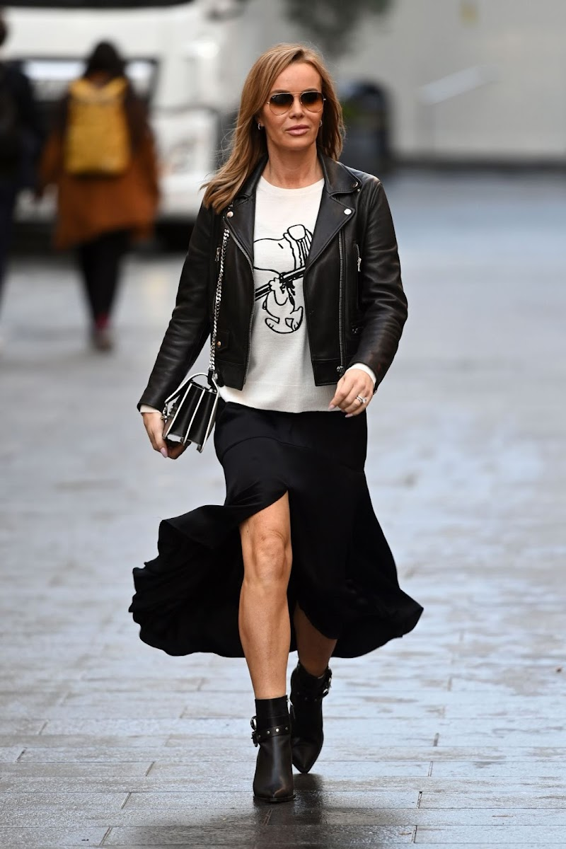 Amanda Holden Spotted At Global Radio in London 14 Dec-2020