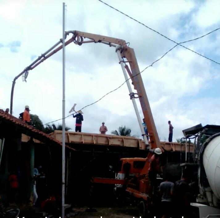 harga sewa pompa beton di Jakarta,  Bogor, Bekasi, Depok, Tangerang