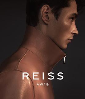 REISS Menswear With Top Model Adrien Sahores