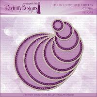 Divinity Designs LLC Custom Double Stitched Circles Dies