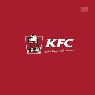 لوجو KFC في زمن الكورونا