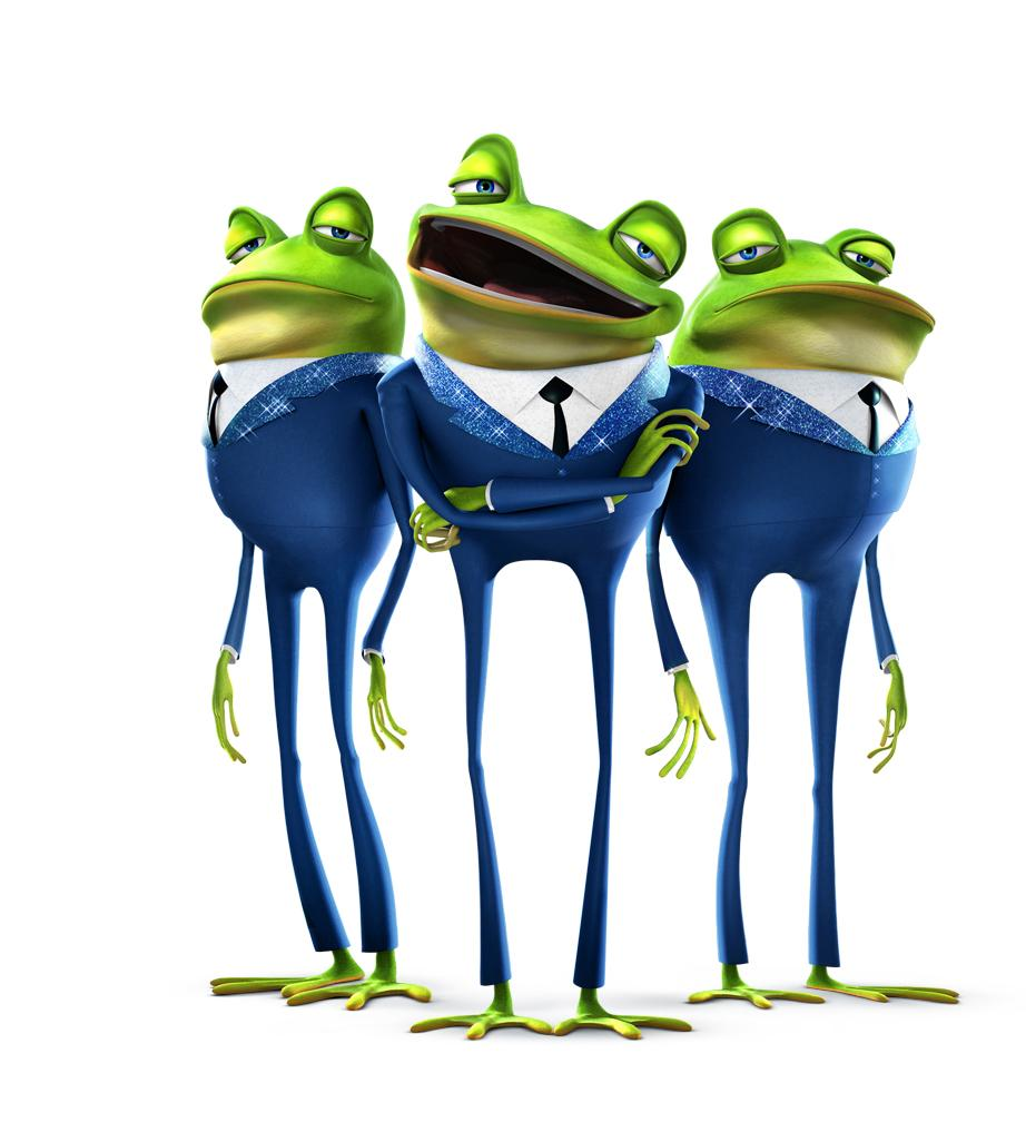 meet the robinsons frankie and frogs in