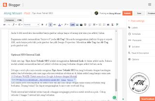Tips Asas Teknik SEO | Ramai di kalangan blogger dari Malaysia atau dari Indonesia yang membahaskan isu-isu mengenai Teknik SEO yang paling ampuh dan berkesan untuk sesebuah blog.  AM bukanlah orang yang layak untuk membicarakan mengenai Teknik SEO ini kerana AM sendiri masih lagi seorang pelajar dalam dunia blogger.   Artikel ini adalah perkongsian yang mampu AM buat daripada beberapa rujukan blog yang sering membicarakan mengenai Teknik SEO. Antara blog yang menjadi sasaran AM adalah bloggerlelaki.com dari Malaysia, sheeinformasi.ga dari Indonesia dan pblegacy.org dari Malaysia.  Blog-blog itu menjadi rujukan AM untuk mempelajari Teknik SEO sama ada Off-page SEO mahupun On-page SEO.  Sebelum kita berbicara mengenai Teknik SEO, sebaiknya kita mengenai dahulu apa itu SEO yang selalu sangat disebut-sebut banyak orang.