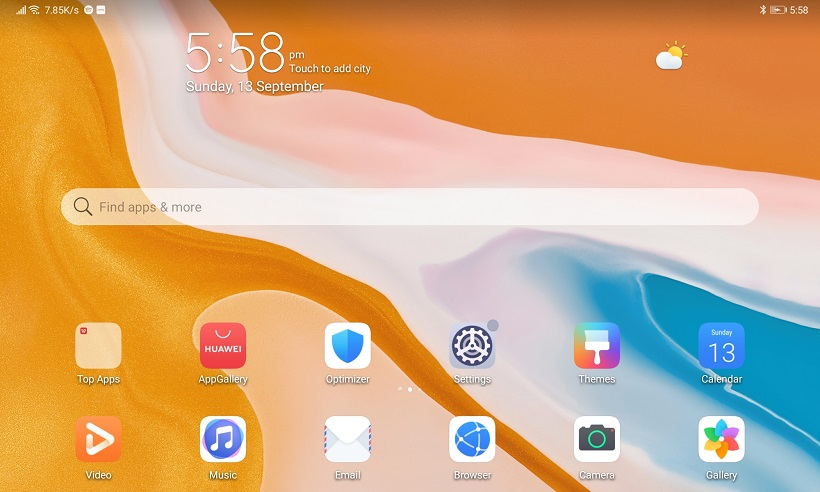 Huawei MatePad Review Software