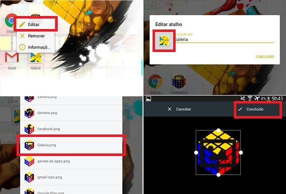 Cubo Mágico Theme: Personalize seu Android com novos ícones