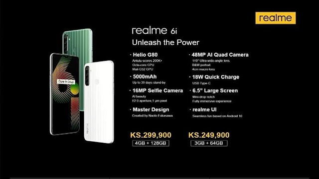 Realme 6i smartphone with quad-camera and 5,000 mAh battery has been launched.