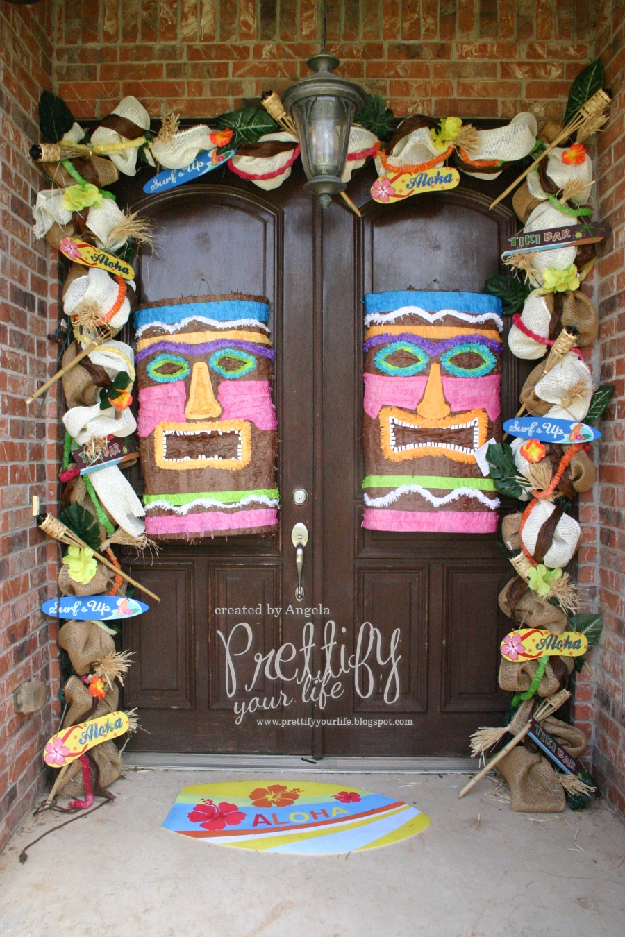 Prettify Your Life Episodes 106 Let S Luau Doorscape