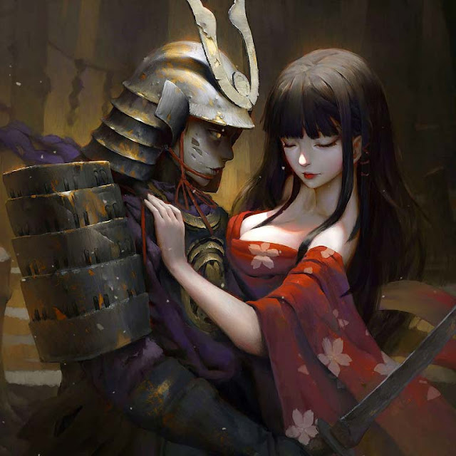 Samurai And Anime Wallpaper Engine