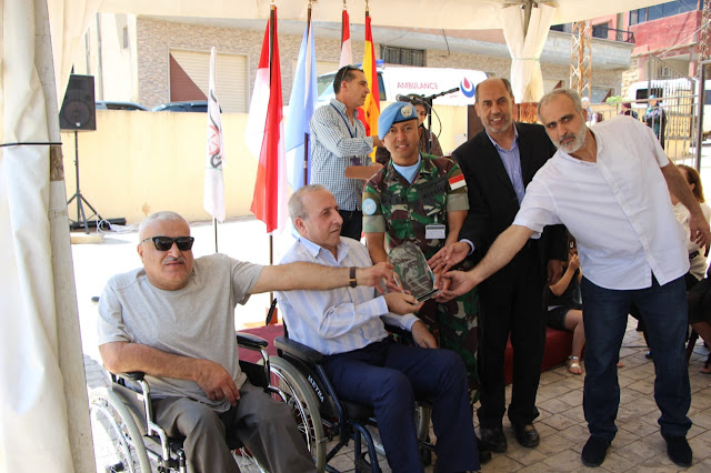 Dansatgas Yonmek TNI Konga XXIII-M/Unifil Resmikan Klinik Kesehatan di Lebanon