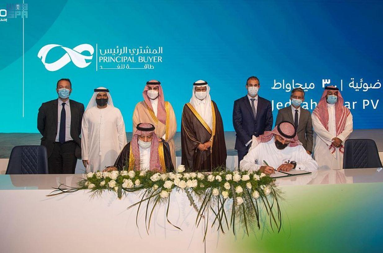 """إئتلاف """"مصدر"""" و""""إي دي إف رينوبلز"""" و""""نسما"""" يعلن إتمام الإغلاق المالي وانطلاق أعمال الإنشاء في مشروع محطة الطاقة الشمسية بالسعودية"""