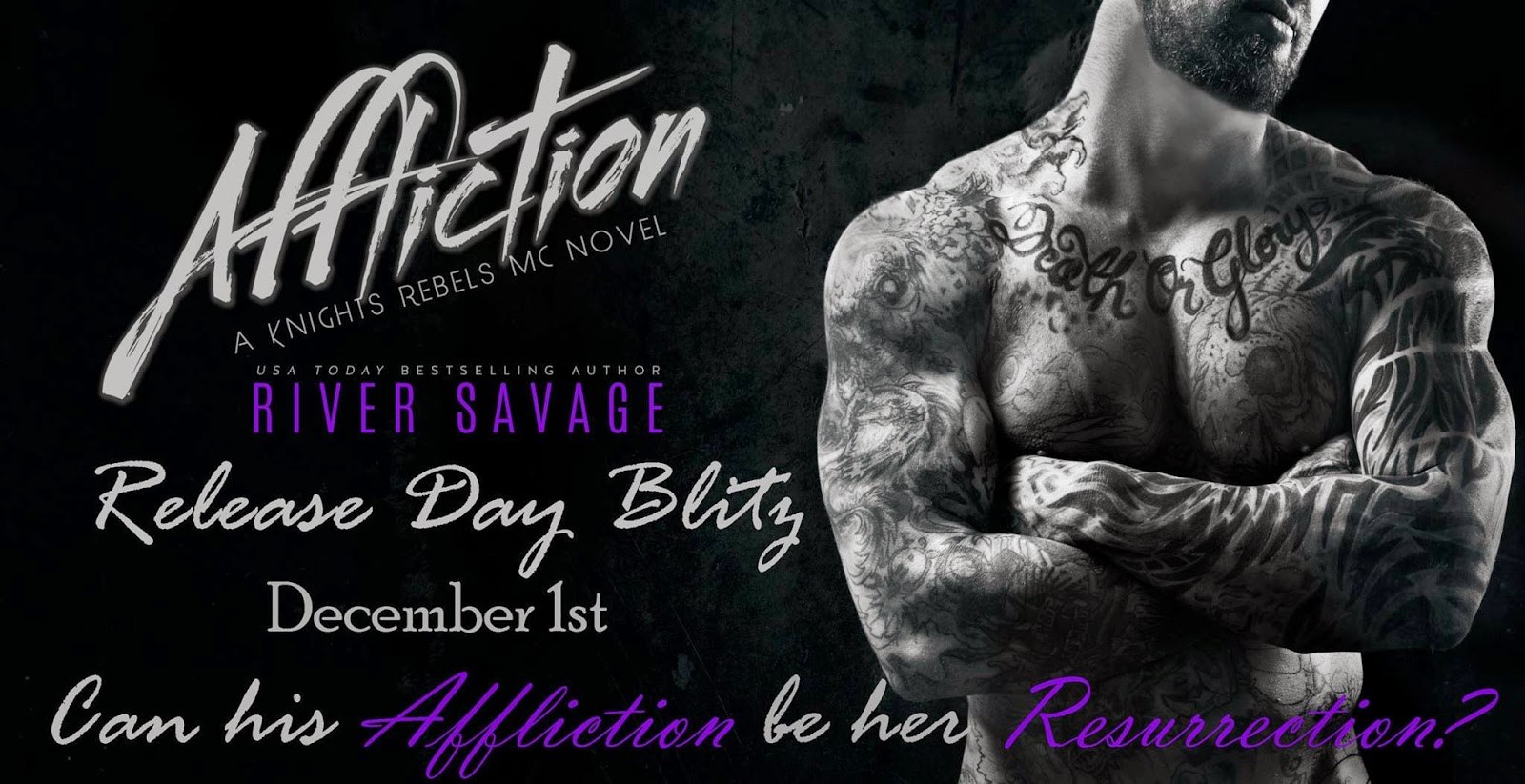 Affliction (Knights Rebels MC #2) Release Day Blitz with Giveaway!!