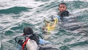 Tim penyelam Polri, Evakuasi 44 Kantong Penumpang Pesawat Sriwijaya Ada Bagian Jasad