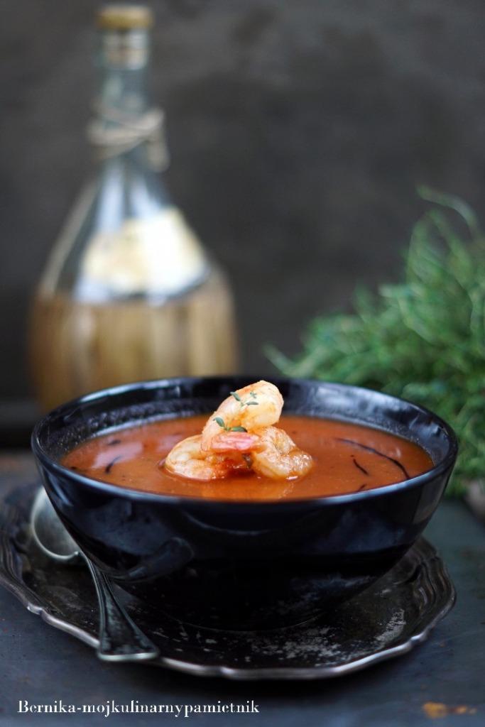 Zupa Pomidorowa Z Krewetkami Bernika Moj Kulinarny Pamietnik