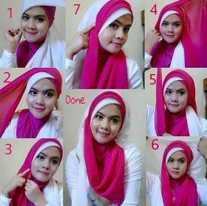 Tutorial Hijab Simple Paling Keren