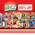 7-Eleven: 50% OFF items this #711Day plus 3000th Store Celebration!