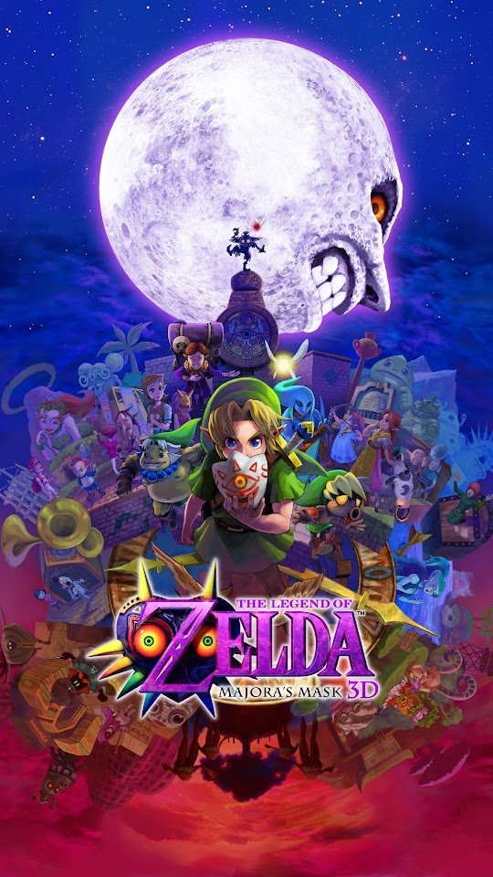 The Legend Of Zelda Majora039s Mask 3D 2015 Galaxy Note HD Wallpaper