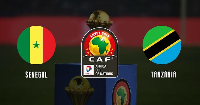 Live : senegal vs tanzania match en direct du dimanche 23 juin 2019