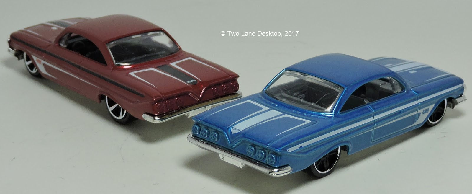 In 2012 hot wheels released the 1961 impala casting and it has big shoes to fill after the 1962 bel air casting is one of my favorites and a perfectly done