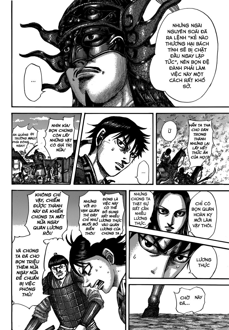 Kingdom chapter 514: kế hoạch thảm hại trang 12