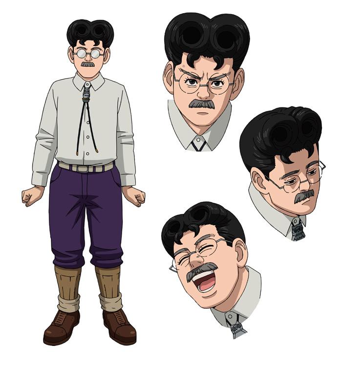 Golden Kamuy anime (OVA) - Shiton Anehata