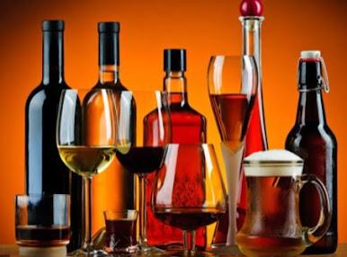 الأنواع الرئيسية للكحول
