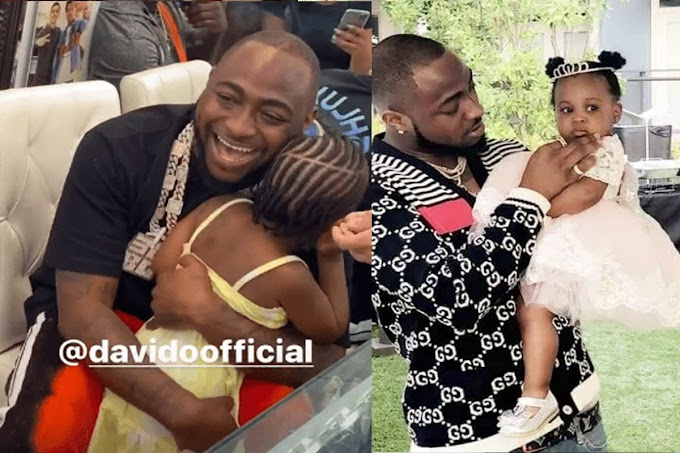 Davido's Daughter Hailey Looking Cute As She Sings Her Father's Song 'Jowo' Video