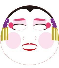 Masque de beauté Pure Smile O-Edo Art geisha design