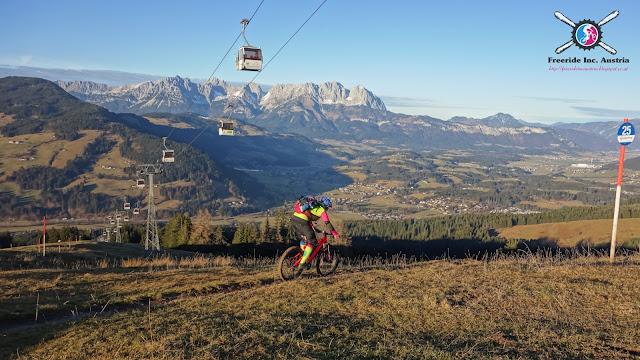 Offizielle Bikestrecken Kirchberg bei Kitzbühel