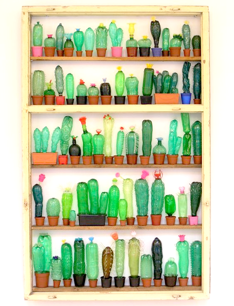 Diy home sweet home 8 creative ways to recycle a plastic for Diy recycled plastic bottles