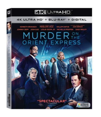 Murder on the Orient Express Arrives on DVD Feb. 27th