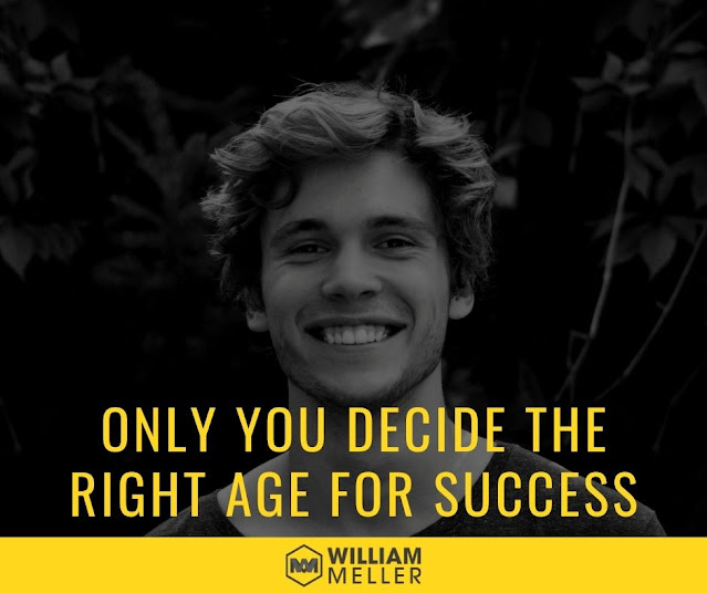 Only you decide the right age for success