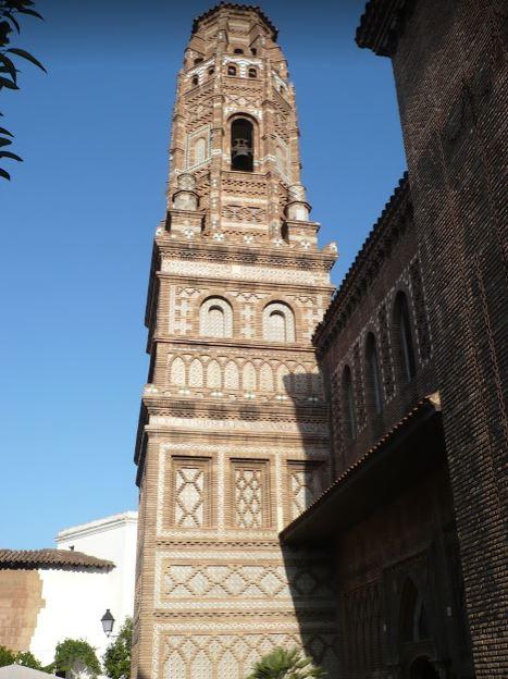 torre di utebo di Saragozza al Poble Espanyol