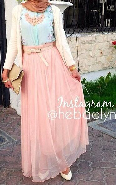 Robe-hijab-rose