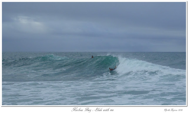 Keokea Bay: Slide with me